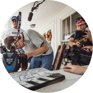 Behind the scenes with a UCF student film crew